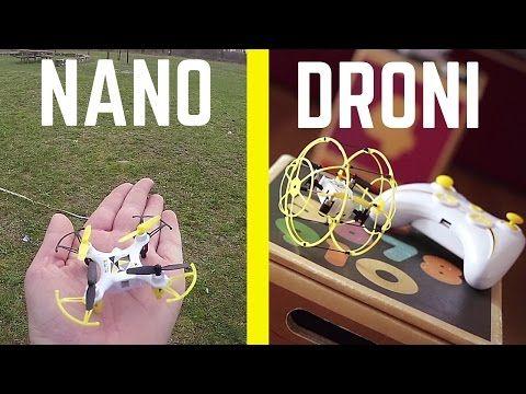 MINI DRONE X6.0 NANO + X6.0 BALL: si vola DENTRO e FUORI CASA! #drone #drones