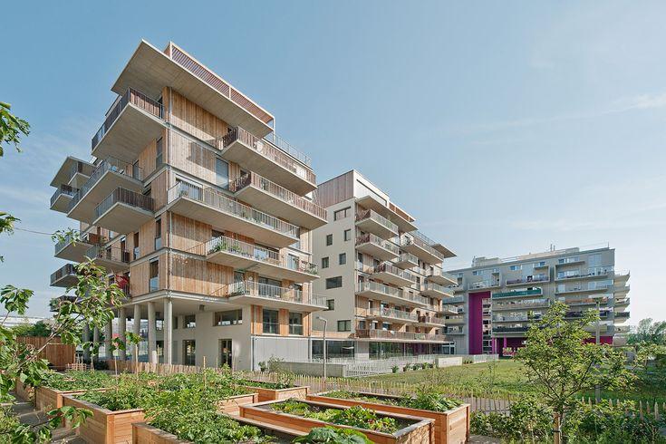 """Social Housing – New European Projects"" showcases affordable-housing design strategies across the continent | Wohnprojekt Wien (Austria) by Einszueins. Image © Hertha Hurnaus | Bustler"