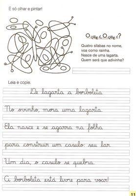 Rosearts- Atividades para imprimir: Atividades de caligrafia