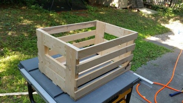 The Homestead Survival | How to Build a Wooden Crate Inexpensively | http://thehomesteadsurvival.com