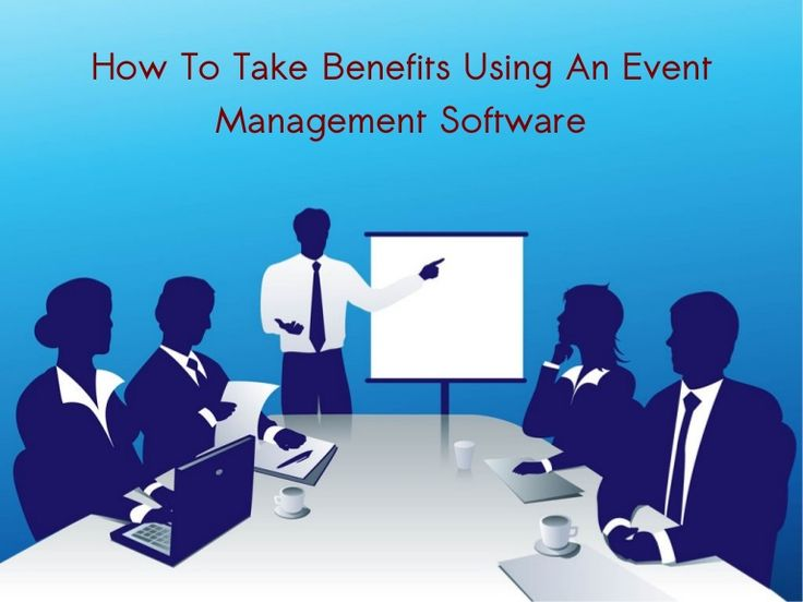 Event management software is the generic term for a wide range of software products that are used in the management of professional and academic conferences, trade exhibitions and smaller events such as Continuing Professional Development (CPD) meetings.