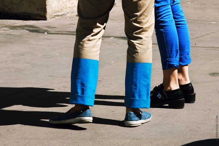 ou comment redonner du peps à des pantalons monotones... (diy inside)
