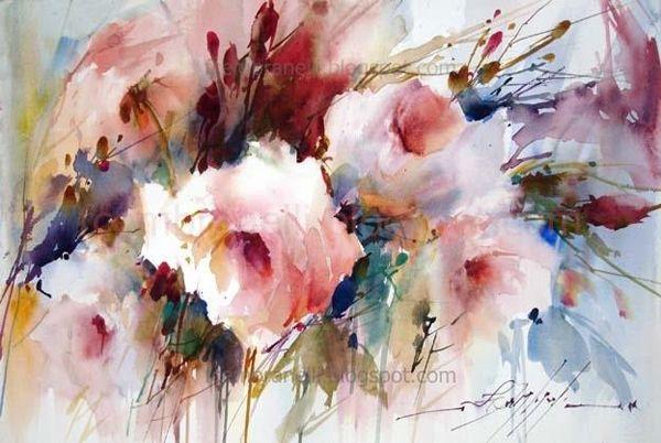 Кухня художника и все его причиндалы - Цветы, цветы от Fabio Cembranelli
