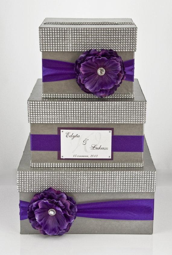 Card Box Wedding Money 3 Tier By Diamonddecor