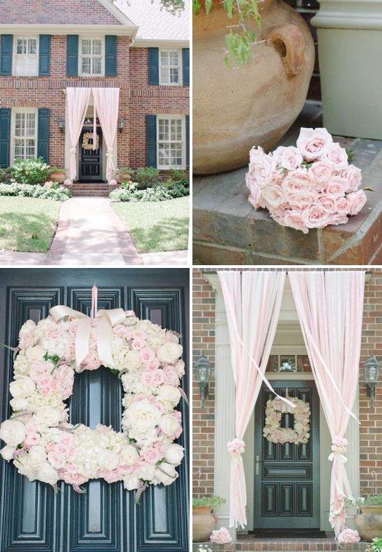 This Entry Way Was Designed For A Baby Shower, But Will Look Amazing For A