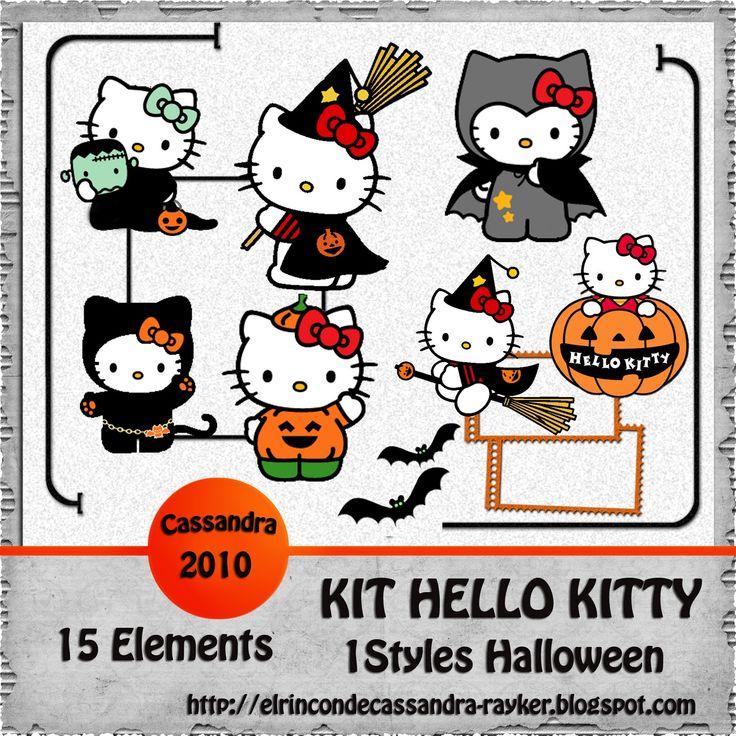 hello kitty halloween   Hello Kitty Halloween Kit Freebies