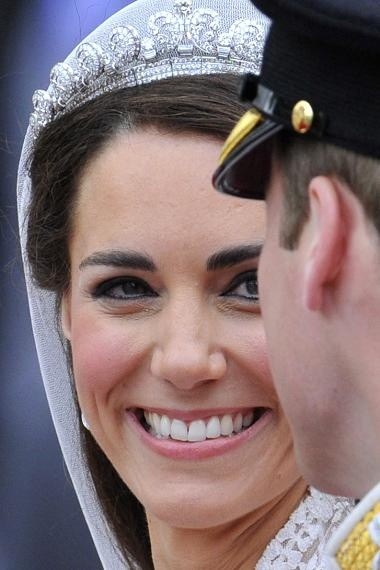Kate told William as they left   quot I am so happy quot