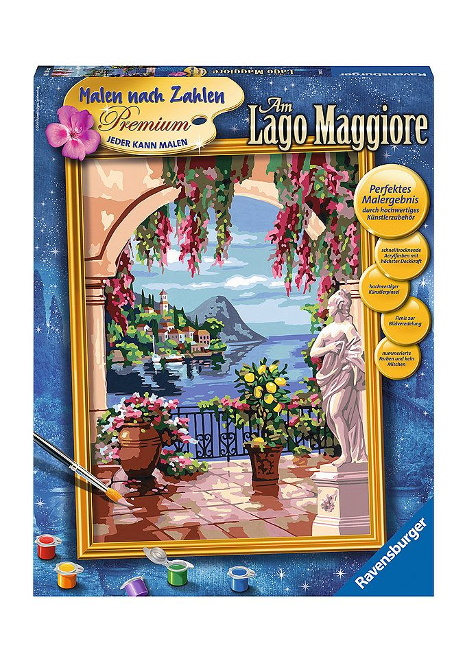 Malen nach Zahlen, »Am Lago Maggiore«, Ravensburger