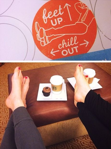 Feet up, chill out at our Hyatt Place horels. Check out more experiences at: shareit.hyatt.com. Photo by @bribird84 on Instagram.