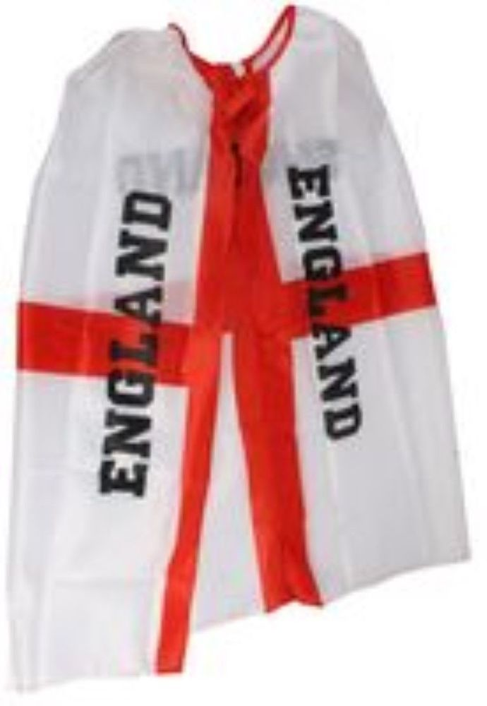 Adult  England, St Georges Supporters Cape - Free P&P, Brand New   | eBay