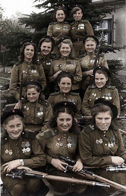 Soviet snipers 1945 | Flickr - Photo Sharing!: