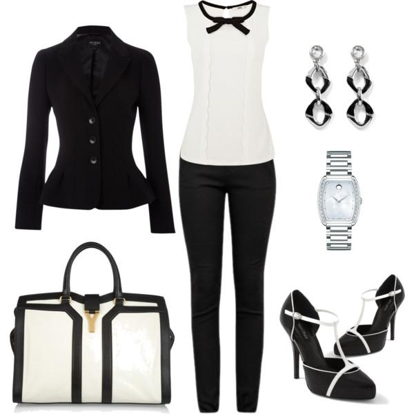 I found 'Pretty in Black and White  Outfit' on Wish, check it out!