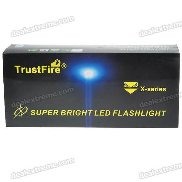 TrustFire X6 SST-90 5-Mode 2300lm Memory Flashlight
