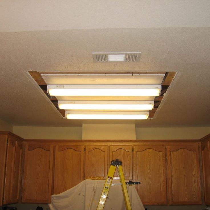 Fluorescent Lights For The Kitchen Ceiling