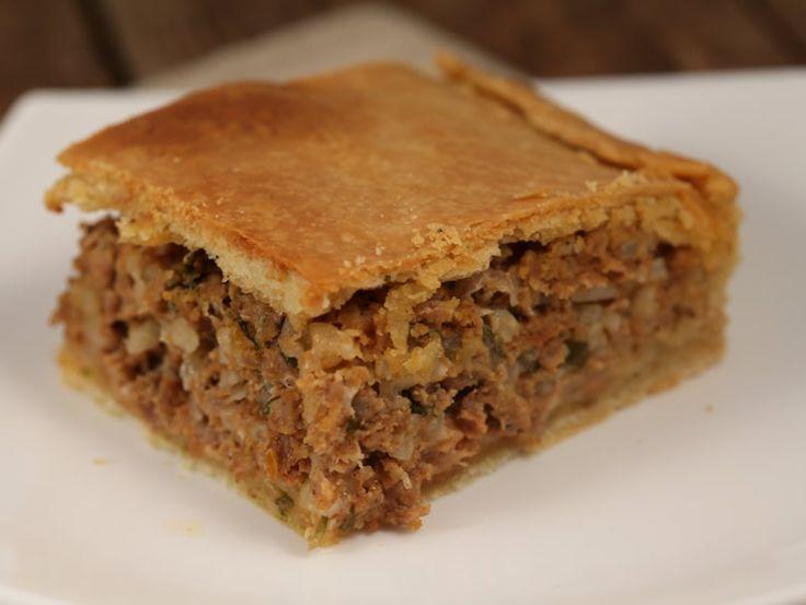 Placinta+cu+carne+si+orez