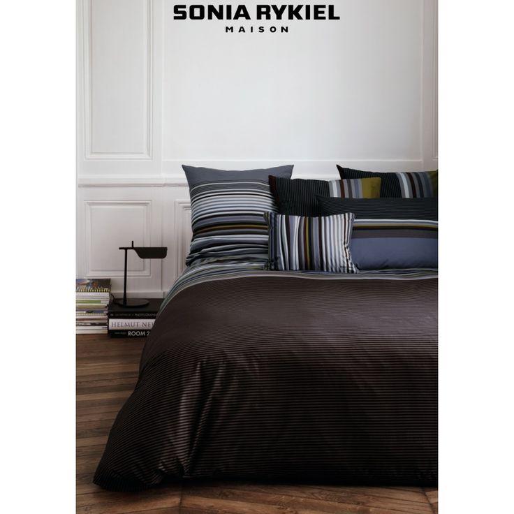 1000 images about mon lit by sonia rykiel maison on pinterest - Housse de couette all black ...