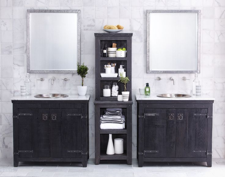 2 Vanities with Storage in the middle. 1000  images about MOM   Bathroom Ideas on Pinterest   Pegasus