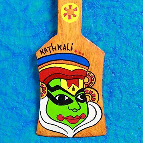 @AKrazyMug Key holder Kathkali #Orange. http://bit.ly/Orangekeyholder #handmade #handcrafted #keyholder #India #Mumbai