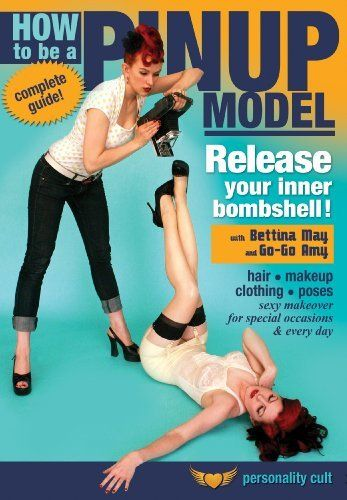 How to be a Pinup Model, with Bettina May and Go-Go Amy: Complete instruction in the makeup, hair styling and accessories required for the retro 40s/50s pinup girl look! DVD ~ Bettina May, http://www.amazon.com/dp/B00095MBP8/ref=cm_sw_r_pi_dp_-YwRrb14CQQAF