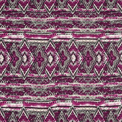 Shop  Berry Lila Boho Rayon Challis Fabric at onlinefabricstore.net for $4.65/ Yard. Best Price & Service.