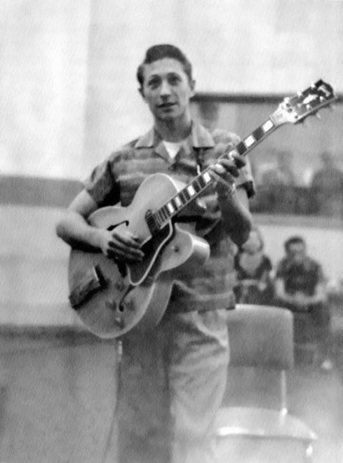 Scotty Moore (1931-2016) -- Rock n Roll's first, by way of Rockabilly, lead guitar player. And forever one of the best.