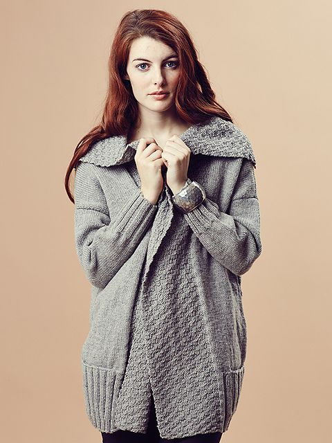 Ina pattern by Marie Wallin, from the Rowan Pure Wool Worsted Autumn Collection