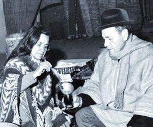 Violeta Parra, junto a su hermano Nicanor, donde se suicidó hace 47 años.