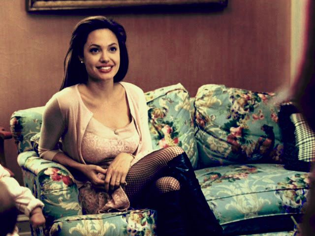 Not Angie, that couch, please.