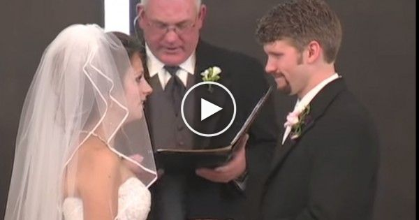 You Won't Stop Laughing After Watching This Funniest Wedding Vow Video Ever.
