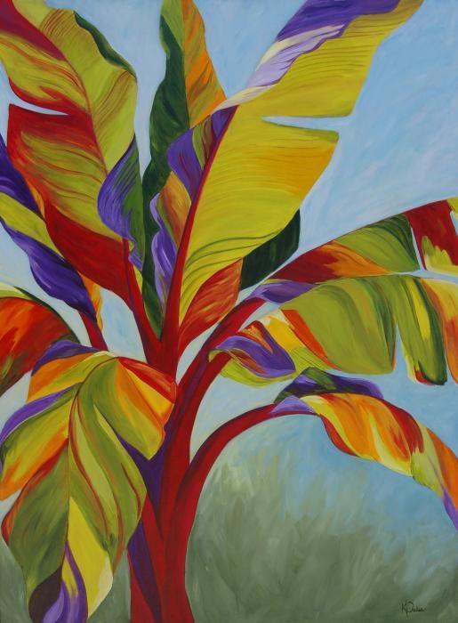 Tropical Mist Painting - Tropical Mist Fine Art Print - Karen Dukes