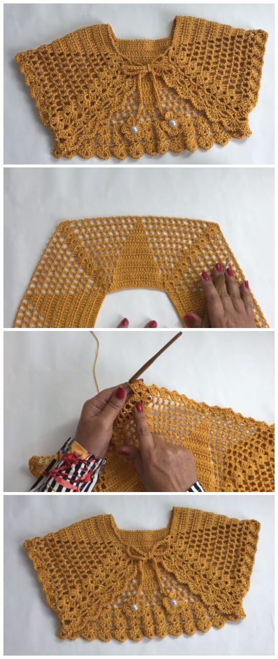 Crochet Bolero Jacket – Learn to Crochet