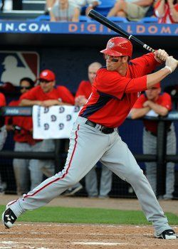 Bryce Harper (age 19) hit his first MLB home run today May 14 2012)
