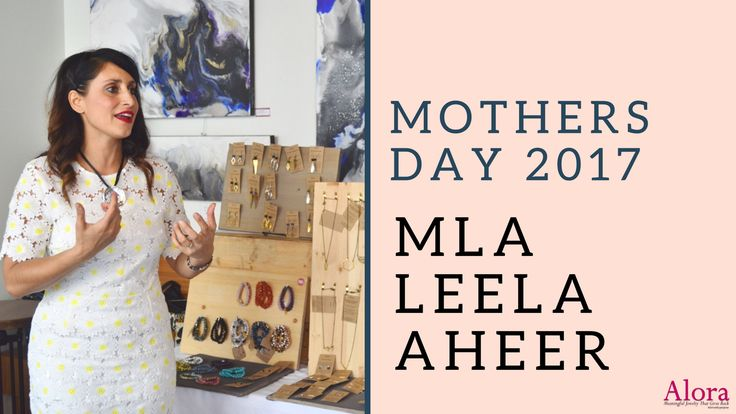 Leela Aheer, MLA for Chestermere-Rocky View, joined us for our Mother's Day brunch event. She has been a small business owner since 1998 and obtained a Bachelor's Degree in Music (she is very talented!). She plays the flute and teaches piano and guitar!