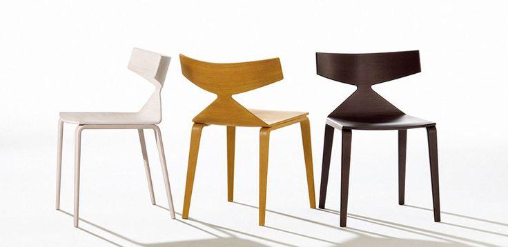 Krzesła Nowoczesne Saya przez Arper