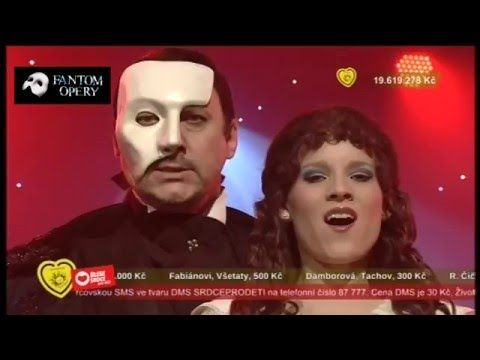 Marian Vojtko a Michaela Gemrotová - Fantom Opery (The Phantom of the Op...