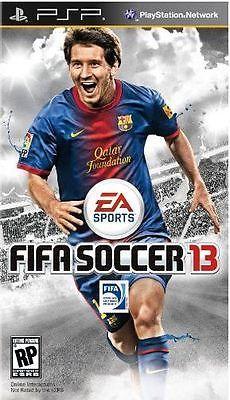 FIFA Soccer 13 (PlayStation Portable PSP) - http://videogamedevils.com/2014/01/29/fifa-soccer-13-playstation-portable-psp-2/