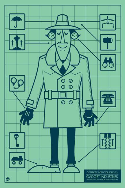 Inspector Gadget /// by Dave Perillo