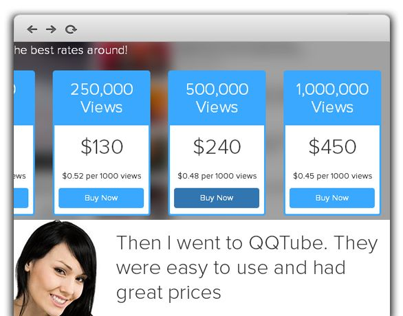 Youtube video marketing is very much help to create a brand reputation. If you are concerned about enhancing your online credibility, boosting your videos' view count is utterly essential. QQTube providing the complete solution for your youtube marketing. You can buy youtube subscribers, likes , views and comments ate very cheap price. https://www.qqtube.com/    #BuyYoutubeSubscriber