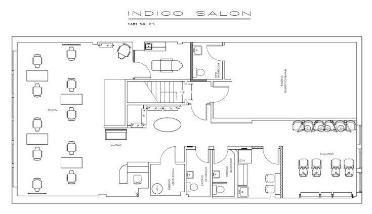Salon Floor Plans Free: Sample Floor Plan