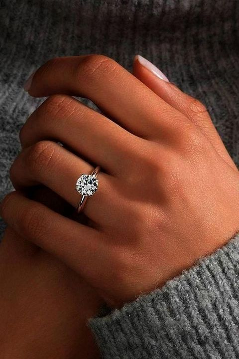 50+ Beautiful Engagement Rings Vintage Simple & Unique | Wagepon Ideas