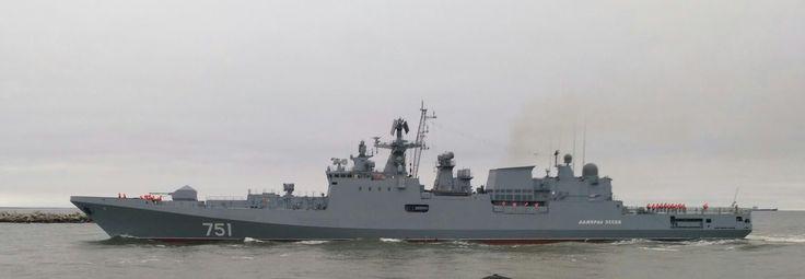 NOTICIAS FFAA CHILE: Comandante en Jefe de La Armada de Chile Visita Buques de La Flota Rusa