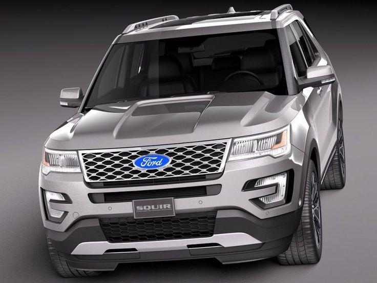 2018 Ford Explorer Platinum Redesign
