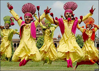 bhangra-dance - love this color combination!