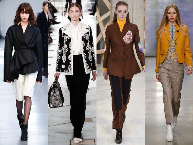 34a0e51d4568 Модные женские пиджаки и жакеты осень-зима 2018-2019 фото | Модные ...