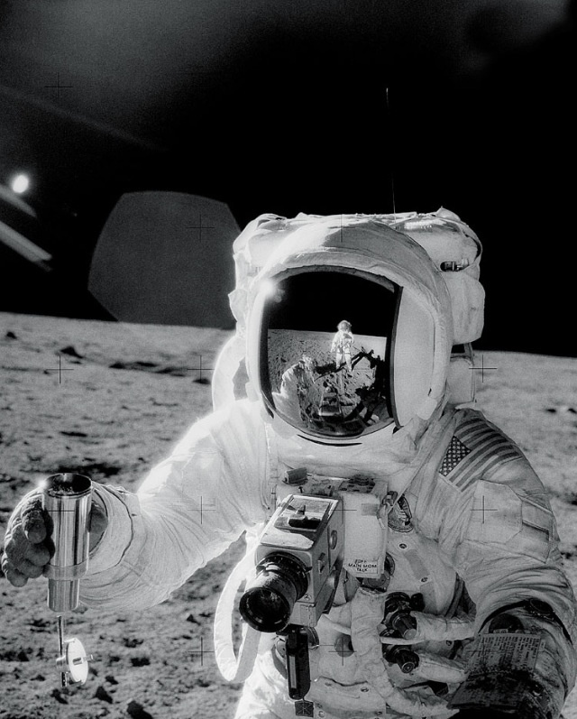 On the moon 1969.