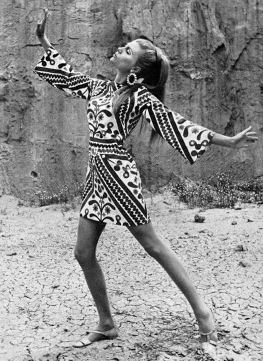 Short beach dress, 1960s