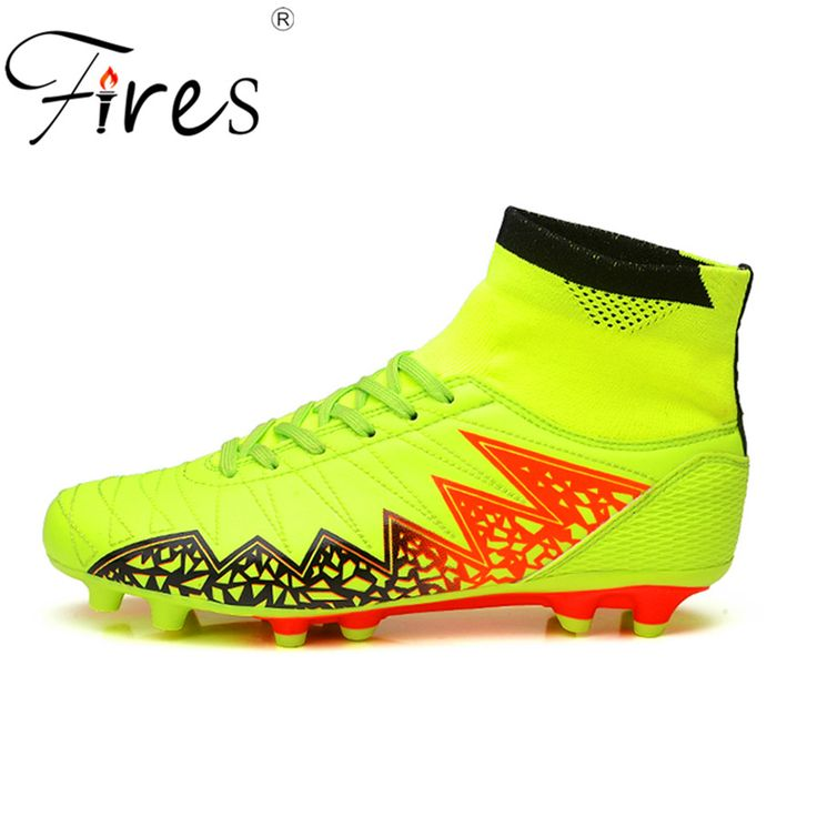 Fires Long Spikes Soccer Boots/Shoes  For Men Outdoor Football Shoes Summer And Autumn Ankle Original Football Boots Zapatillas #Affiliate