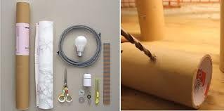 Resultado de imagen para lamparas con tubos de carton