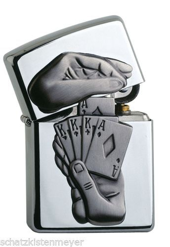 awesome-ZIPPO-TRICK-POKER-lighter-very-rare-Special-Edition-Casino-Edition