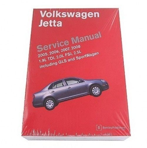 Nice Awesome Volkswagen VW Jetta GLS SportWagen 2005-2008 Service Repair Manual Bentley 2017 2018